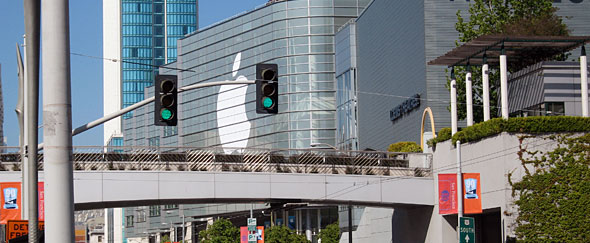 Photo of Moscone West at WWDC in 2008